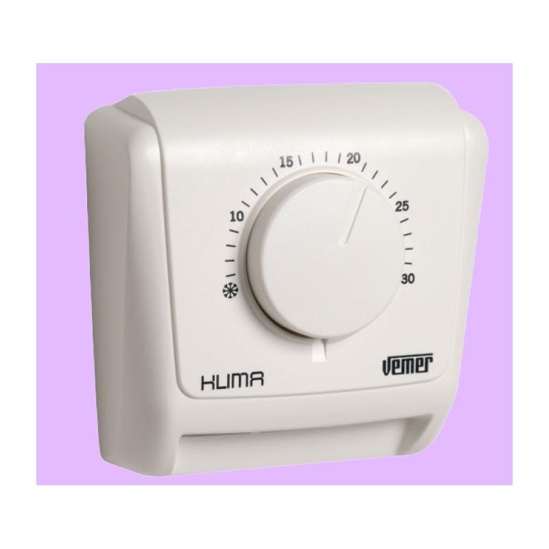 thermostat d ambiance simple mecanique klima 2 label eco. Black Bedroom Furniture Sets. Home Design Ideas