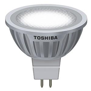 TOSHIBA E-Core MR16 GU5.3 4,0W 35° 12V 2700K