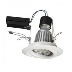 E-Core Downlight 6000, White, 92W, 3000K, 72°, 50.000h, wi